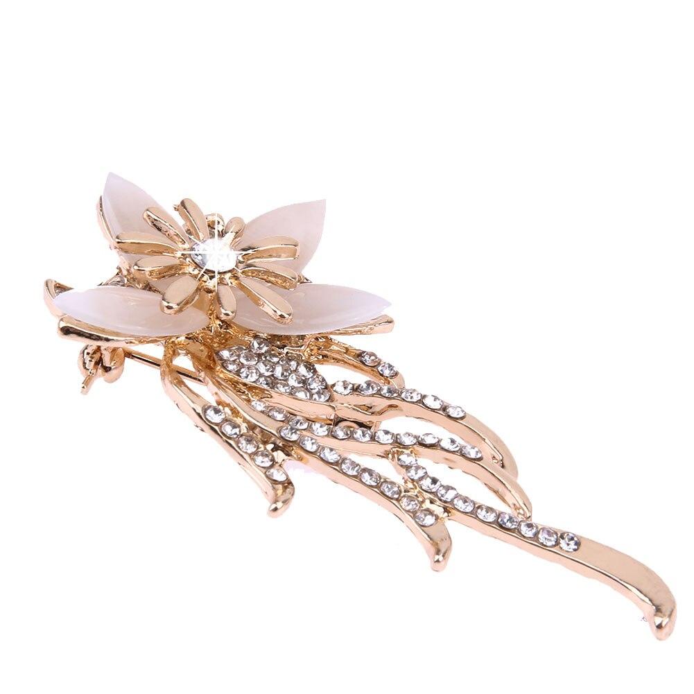 Star Flower Brooch Pins