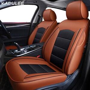 Image 2 - Чехол KADULEE на автомобильное сиденье из натуральной кожи под заказ для mercedes benz gl c180 c200 e300 w211 w203 w204 ML Автомобильная подушка автокресла Стайлинг