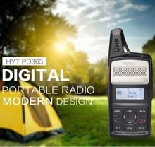 HYT walkie talkie 400-430 mhz hytera pd365 radio portable ham CB radio DMR Handheld Transmitter PD-365
