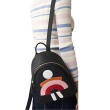 Европа цвет Мини Рюкзак простой отдых небольшой рюкзак студентов о личности Мини прекрасный школьный прилив