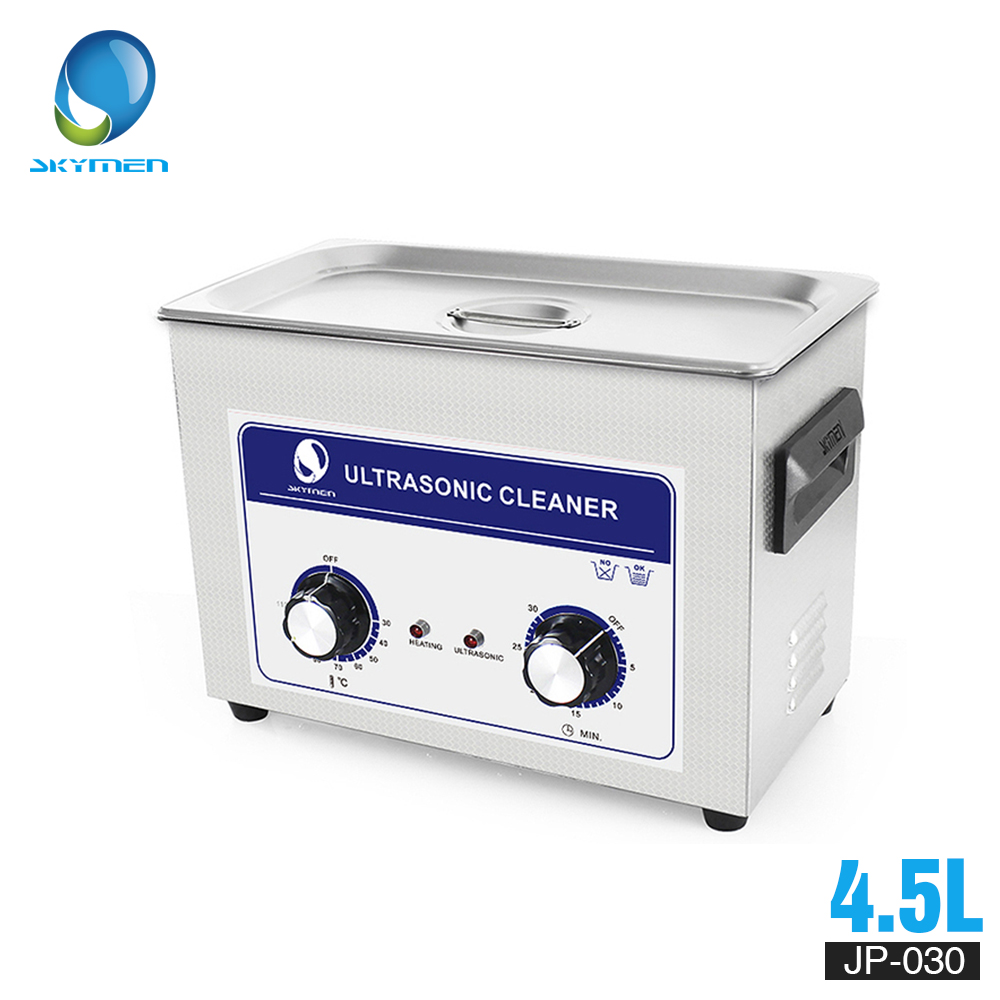 Skymen Mécanique Bouton cleaner 4L 4.5L 180 w 110/220 v À Ultrasons capteur de nettoyage cleaner Chauffe-Minuterie Pour Auto pièces rondelle