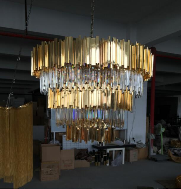 ժամանակակից շքեղ վիլլայի օրինակ - Ներքին լուսավորություն - Լուսանկար 2
