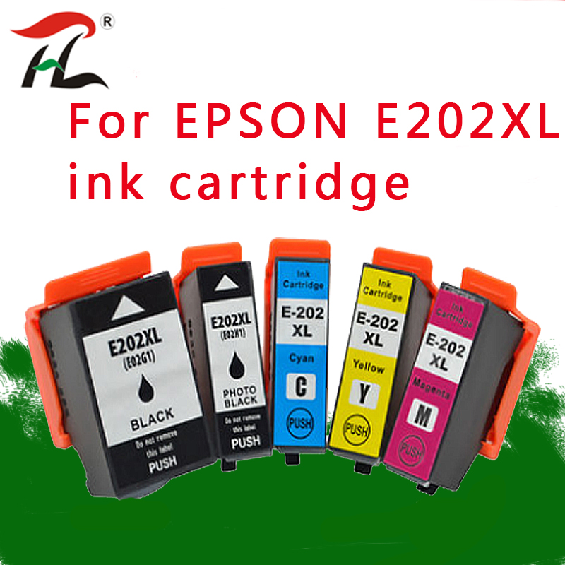 <font><b>202XL</b></font> Compatible ink cartridges For <font><b>Epson</b></font> 202 XL For <font><b>Epson</b></font> Expression premium XP-6000 XP-6005 Printer image