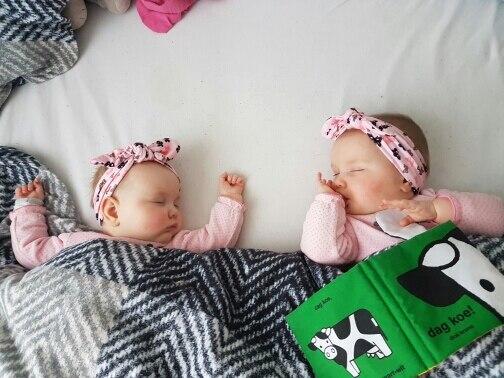 JRFSD 1PCS 2017 Fashion Dot Knot Headband Newborn Elastic Hair Bands - Киімге арналған аксессуарлар - фото 3