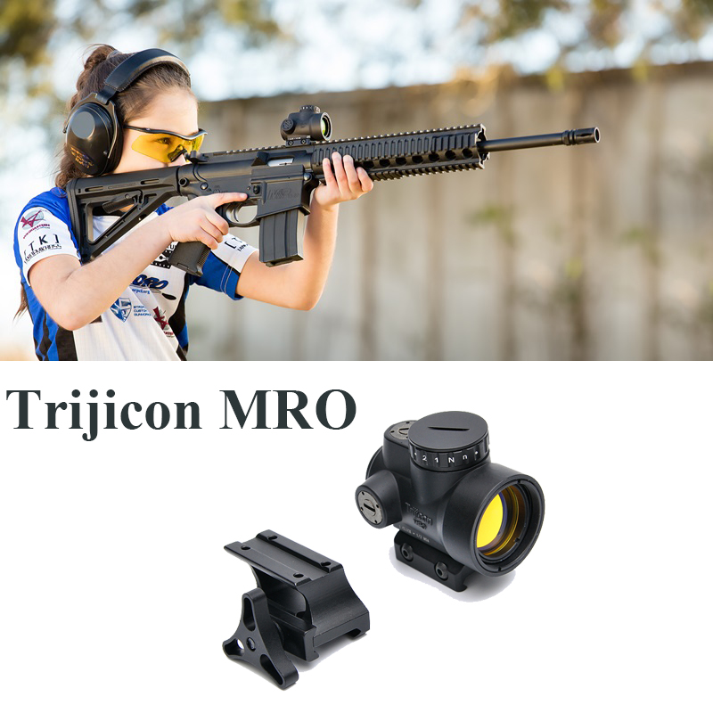 Trijicon MRO Red Dot Rifle Sight Holographic Red Dot Scopes Reflex Scope Collimator Sight Optics Tactical Rifle Scope