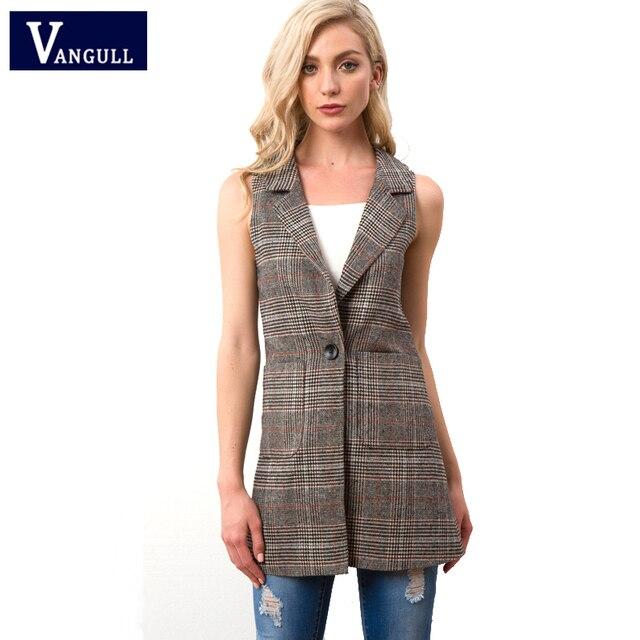 Phụ nữ Thời Trang thanh lịch phụ nữ văn phòng túi áo khoác Mùa Thu 2018 của phụ nữ quần áo không tay vest khoác áo outwear casual thương hiệu Eo Áo