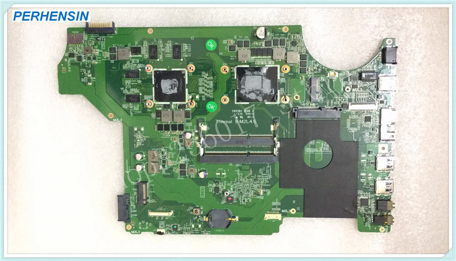 For MSI GE62 GE72 MS-17931 MS-1793 Laptop MOTHERBOARD MS-16J31 MS-16J3 SR2BP I7-5700HQ REV 1.0 100% WORK PERFECTLY original stock ms 16j11 ms 16j1 for msi ge62 laptop motherboard with i7 cpu and video card work perfectly page 2