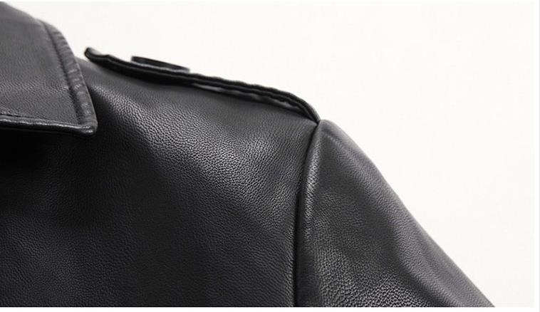 HTB1Mg ieoGF3KVjSZFvq6z nXXa9 Batmo 2019 new arrival autumn&winter real Leather thicked trench coat men,Leather jacket men,plus-size S-5XL