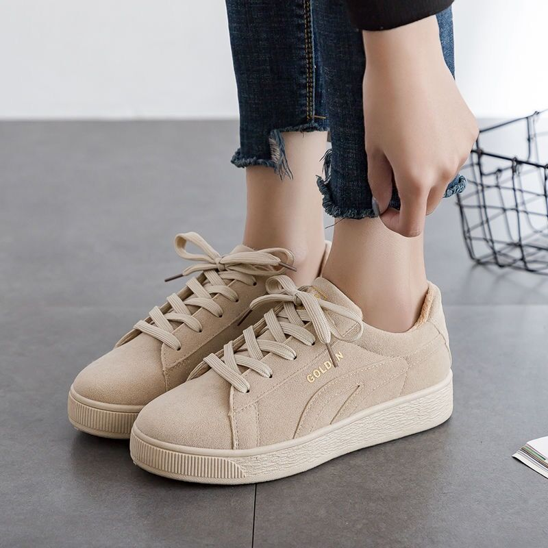 2019 Solid Beige Black Canvas Shoes Women Spring Summer Lace Up Ladies Vulcanize Shoes Breathable Traveling Women Sneakers