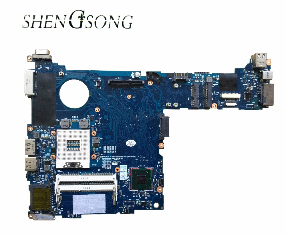 Free Shipping Original 651358-001 Fit for HP 2560P series Laptop Motherboard QM67 6050A2400201-MB-A2 Mainboard 100% test OK for hp 6510b series laptop motherboard 446904 001 mainboard free shipping