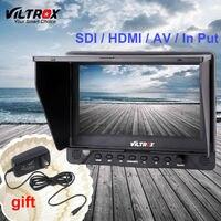 7''viltrox dc 70ex 4khd ЖК дисплей Мониторы HDMI/SDI/AV Вход Выход профессиональный tft Экран клип на видео Дисплей видеокамера DSLR камеры