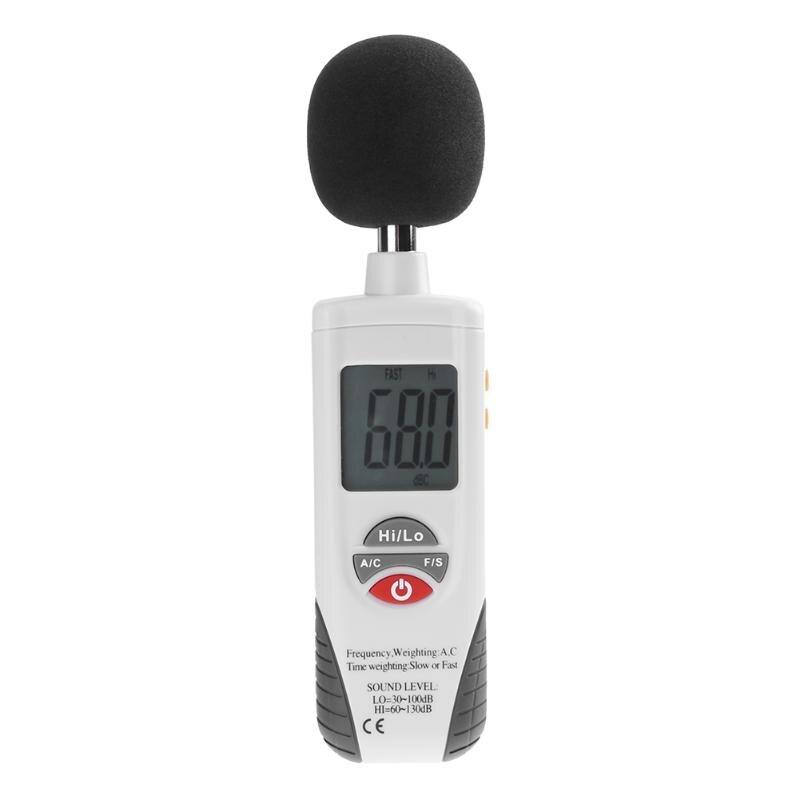 HT-850 Mini sonomètres outil de Diagnostic compteur portatif portatif détecteur de bruit numérique testeur de niveau sonore 30 ~ 130db