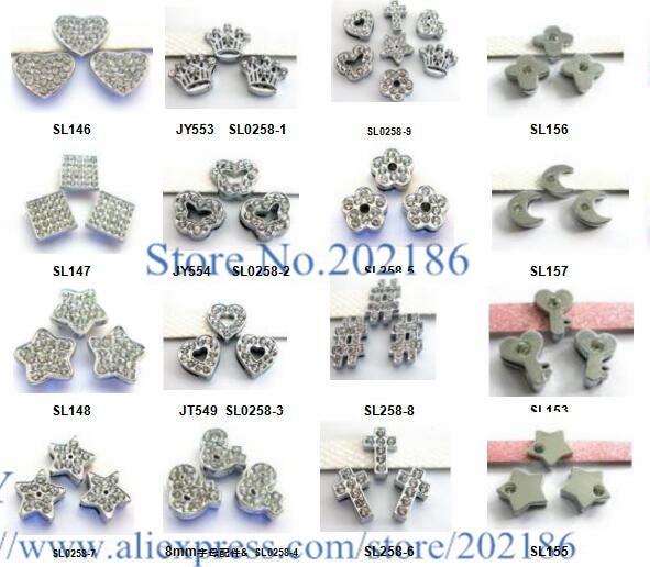 5pcs Crown 8mm slide charms Fit DIY Name Bracelet//Phone strip//SL0258-1