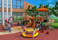 CE/TUV/SGS школа Открытый резиновая пол площадка парка оборудования пластиковые качели слайд игрушки structrue YLW OUT171090