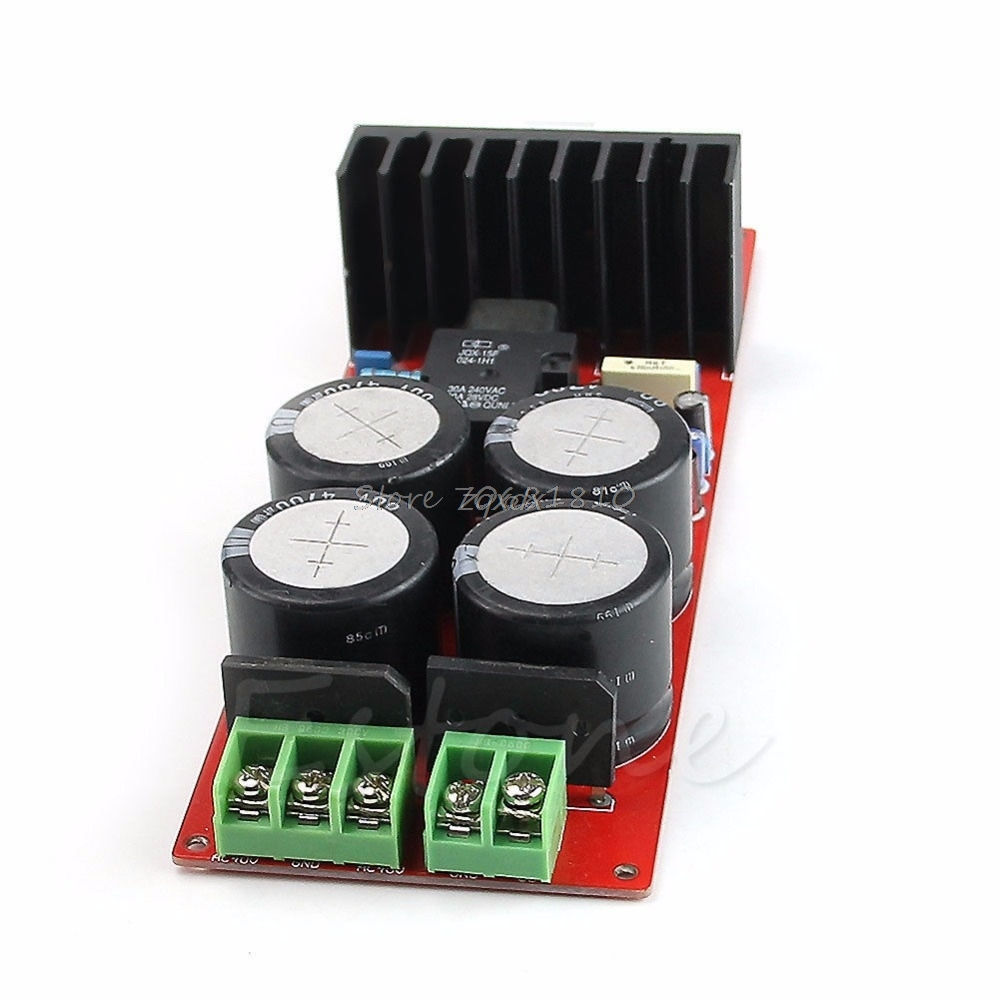 IRS2092 IRFB23N15 D Class 30A D Amplifier Board Mono 350W 8ohm 700W 4ohm UPC1237 Z09 Drop