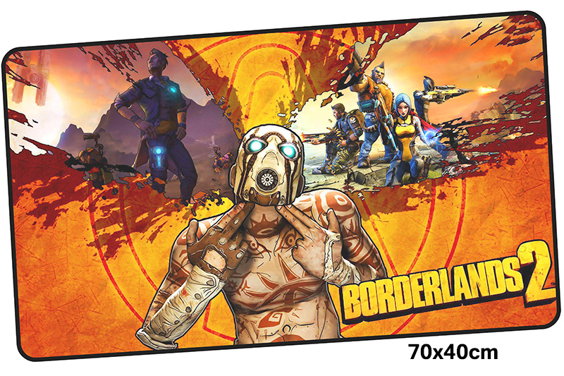 borderlands mousepad gamer 700x400X3MM gaming mouse pad large Halloween notebook pc accessories laptop padmouse ergonomic mat