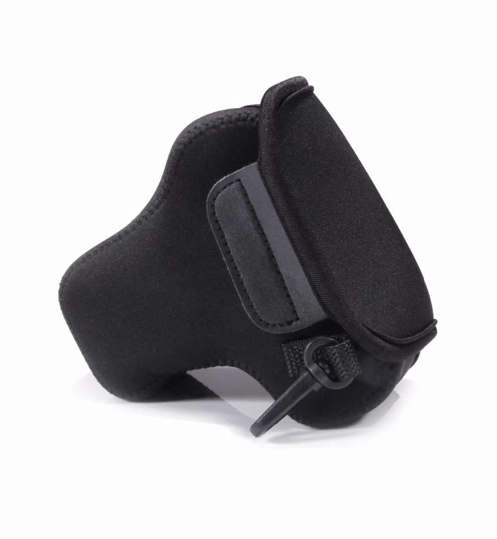 Камера сумка Мягкий чехол Крышка для Fujifilm X-E3 XE3 с 16-50 мм 18-55 мм объектив Canon EOS M5 M50 с 15-45 мм объектив Камера