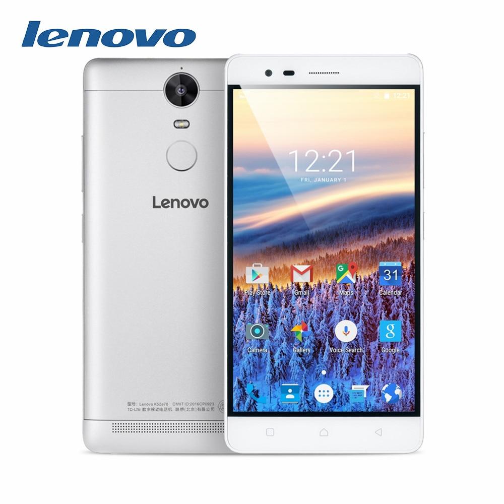 Цена за Оригинал lenovo k5 note 5.5 дюймовый fhd mtk6755m android 5.1 4 г LTE смартфон 3 ГБ RAM 32 ГБ ROM 13MP dual sim отпечатков пальцев 3500 мАч