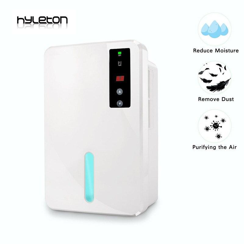 Hyleton maison intelligente déshumidificateur d'air 12 V 1500 ml banque d'eau petite climatisation pour maison bureau maison intelligente