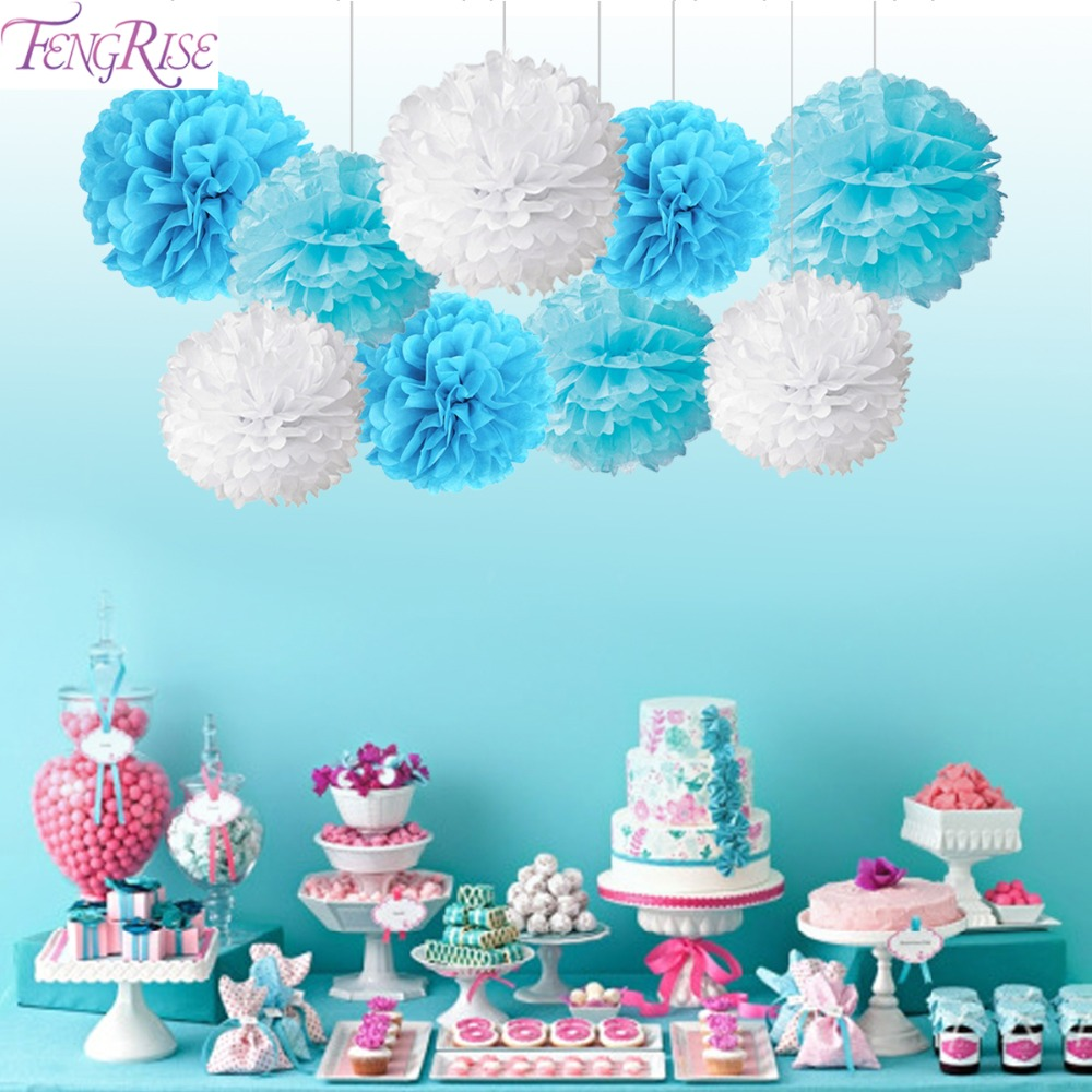 Birthday party backdrop tissue paper pom poms product on alibaba com - Fengrise 9pcs Mixed Tissue Paper Pom Poms Wedding Decorative Flower Balls Party Favors Merry Christmas Home