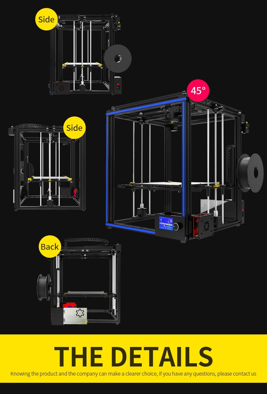TRONXY X5S 3D Printer Big size 330x330x400mm impresora 3D