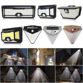 118/136LED Solar Light Solar PIR Motion Sensor Lamp IP65 Waterproof Outdoor Garden Yard Lamp Emergency Security Light Solar Lamp - DISCOUNT ITEM  28% OFF All Category