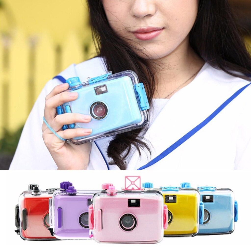 For Lomo Underwater Waterproof  Camera Mini Cute 35mm Film With Housing Case
