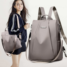 Oxford Backpack Female 2019 New  Korean Version Ccasual Fash