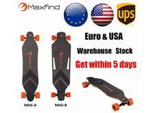 2017 Maxfind Double Motors Samsung Battery Four Wheels Motorized Skateboard Hoverboard Longboard Scooter Boosted Board for Sale
