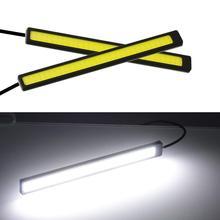 17 см 12 В COB светодиодный DRL для вождения дневные ходовые огни полоса водонепроницаемый автомобильный Стайлинг светодиодный светильник Авто рабочее освещение автомобиля#2