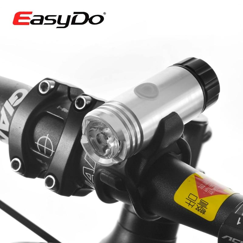 EASYDO Bike Mini Front Light & USB Rechargeable 3W LED Lamp For Bicycle LED Light &3.7V/600mAh Battery Cycling Safety Light 3 6v 2400mah rechargeable battery pack for psp 3000 2000
