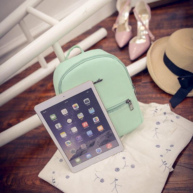 mochila feminina verão pequeno bolsa Material Technology : Soft Face