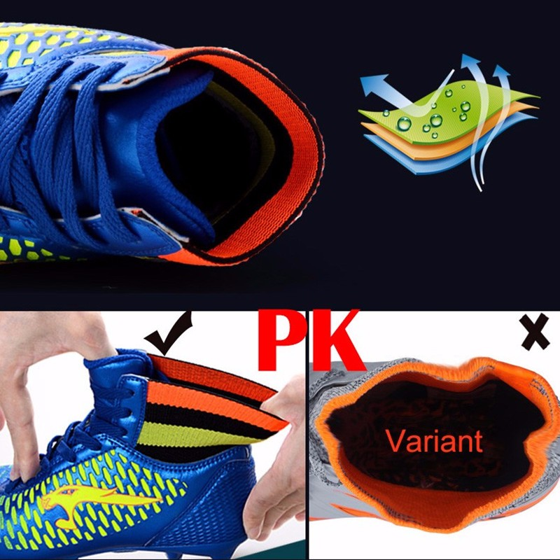 High Ankle Football Boots Kids Soccer Cleats Teenagers Outdoor AG Training Sneakers Botines Botas Futbol 2017 Superfly Original  7