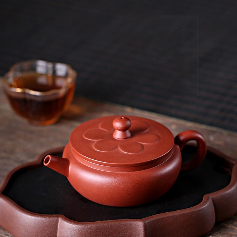 PINNY 150ML YiXing Purple Clay Yu Ying Teapot Hand Made Purple Mud Tea Pot Chinese Purple