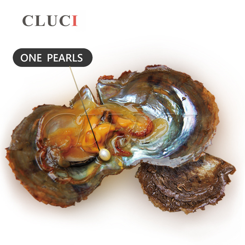 100pcs 6-7mm oval freshwater rice pearl oyster in vacuum-packed