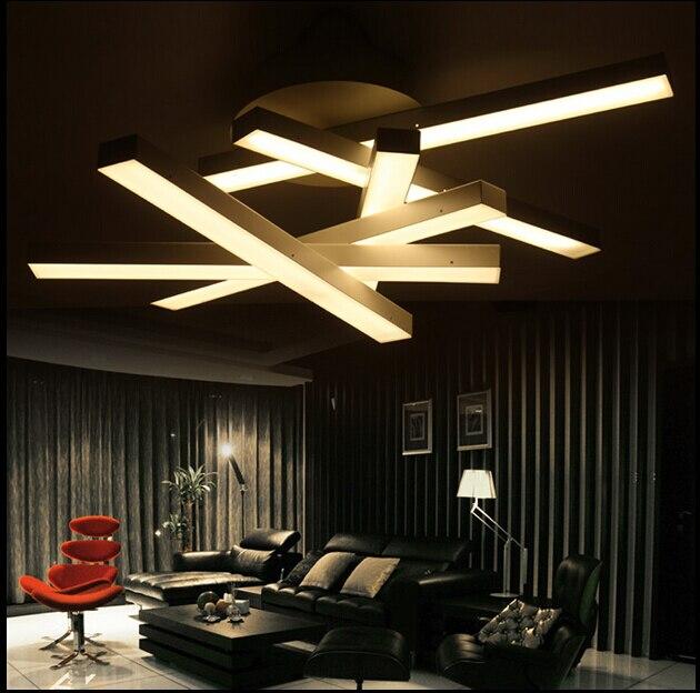 buy modern led chandelier led lamps white. Black Bedroom Furniture Sets. Home Design Ideas