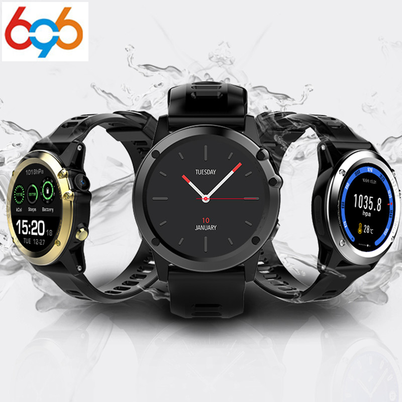 696 H1 Smart Watch MTK6572 IP68 Waterproof 1.39inch 400*400 GPS Wifi 3G Heart Rate Monitor 4GB+512MB For Android IOS Camera 500W все цены