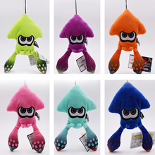 6 styles Anime Toy Inklings Squid Peluche Stuffed Plush Cartoon Dolls Hot Christmas Gift Baby Toys For Children