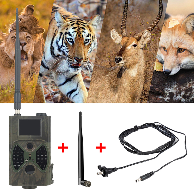 HC-300M Chasse Hunting Camera 2inch LCD Digital Trail Camera Video Scouting Infrared HD 12MP CMOS MMS GPRS Wild Hunting Camera