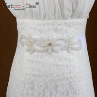 Luxe bling bruids sjerpen mode trouwjurk accessoires riem kralen parel Sinning Steentjes bruids riem bridal accessoire