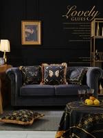 Home Decorative Sofa Throw Pillows Car pillowcase light luxury retro plush bed luxury upholstery coverCushion Cover Pillow Cover