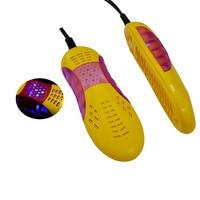 Shoe Dryer For Sterilization 220V Deodorant Odor Shoes Warmers Car Shape Voilet Light Dehumidifier Heater 3