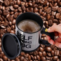 400Ml Automatic Electric Lazy Self Stirring Cup Automatic Coffee Cup Milk Mixing Self Stirring Coffee Cup