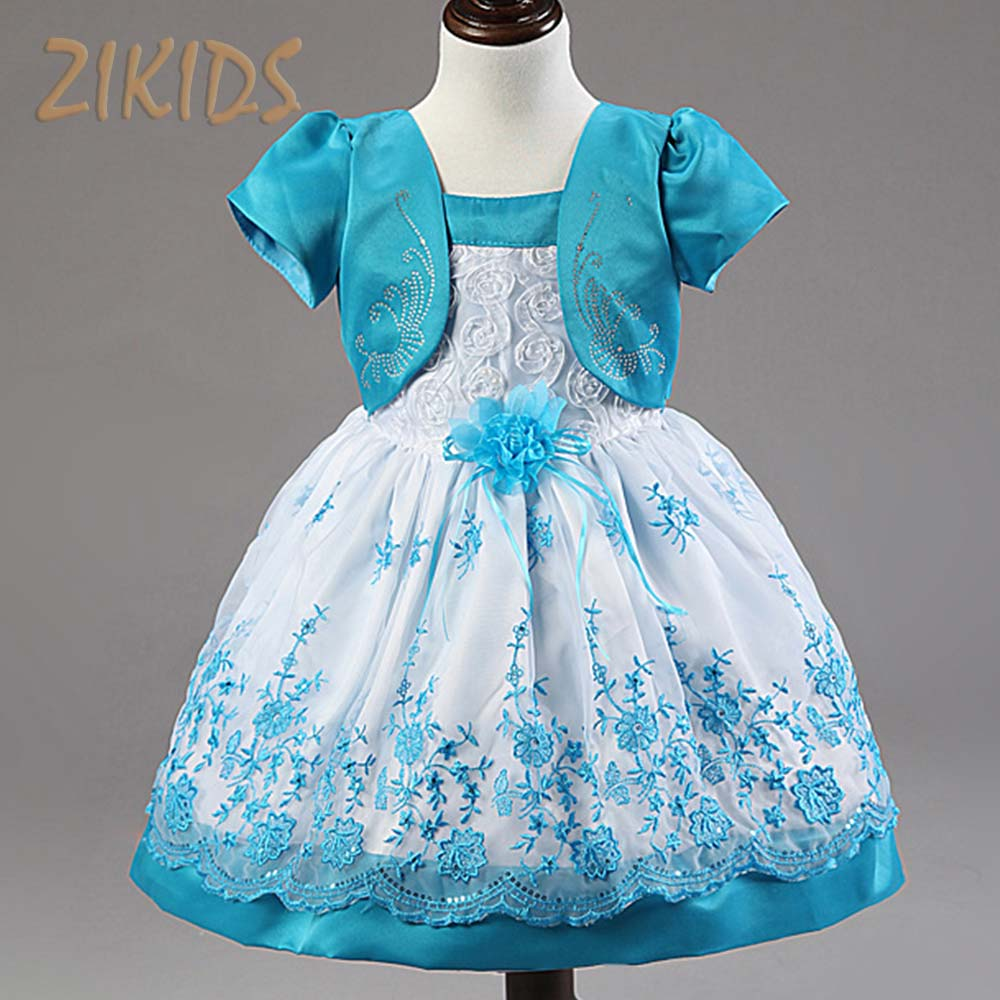 Lovely Baby Girl Dress Flowers Girls Dresses Layered Princess Costume Children Clothes for Party Wedding 2017 Sale new girls flowers dress for wedding and party summer baby clothes princess kids dresses for girl children costume 3 10t w1625133