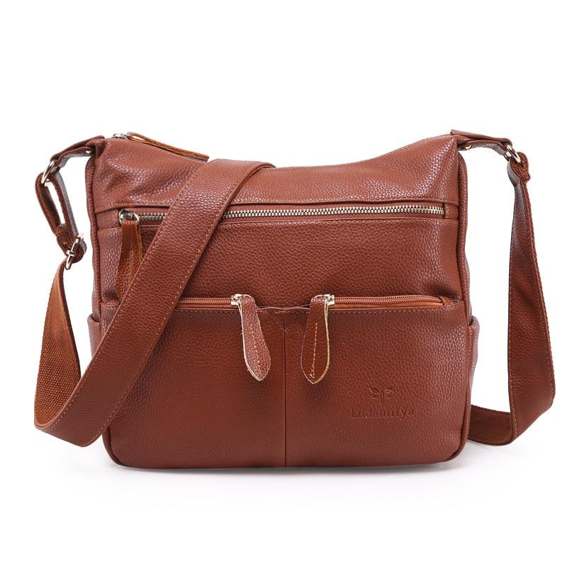 mulheres marca de bolsas de Material Principal : Couro Genuíno