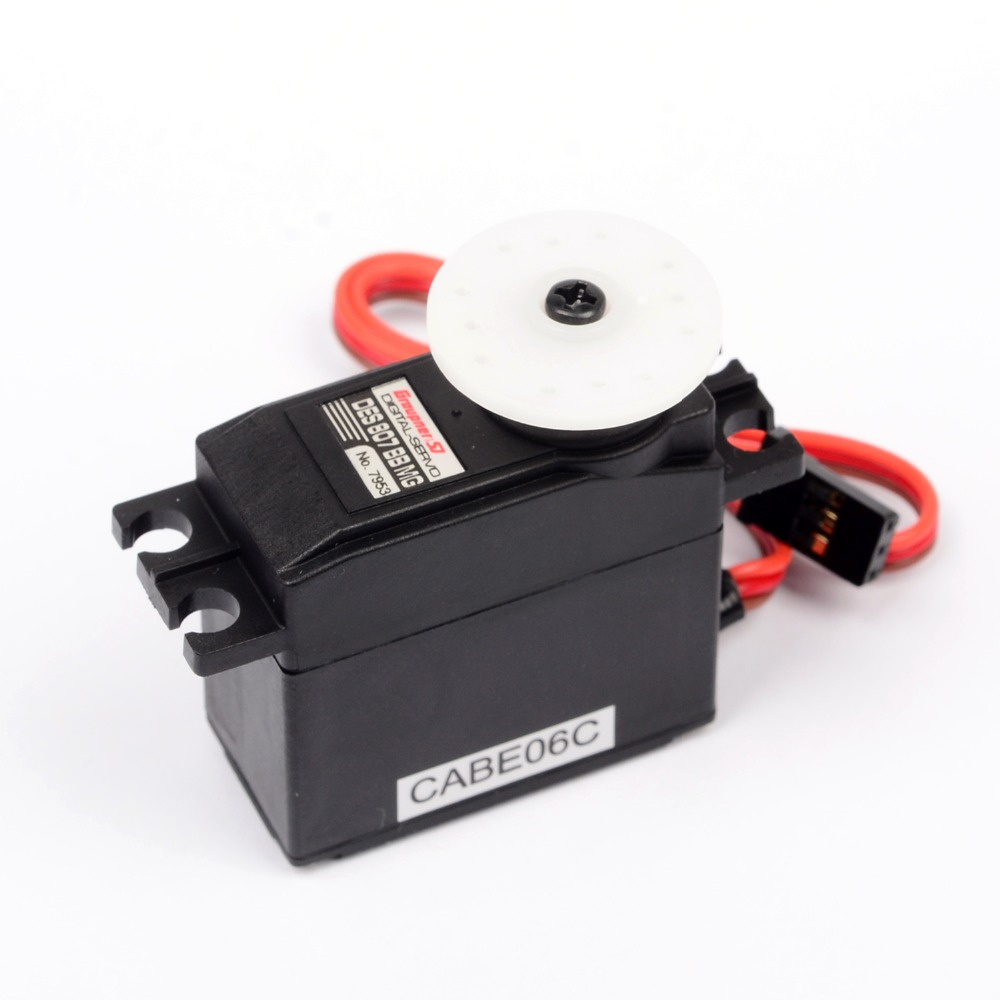 Graupner DES 807 BB MG Speed Coreless Digital Servo Metal Gear for Futaba JR Car RC Model Helicopter Board servo motor
