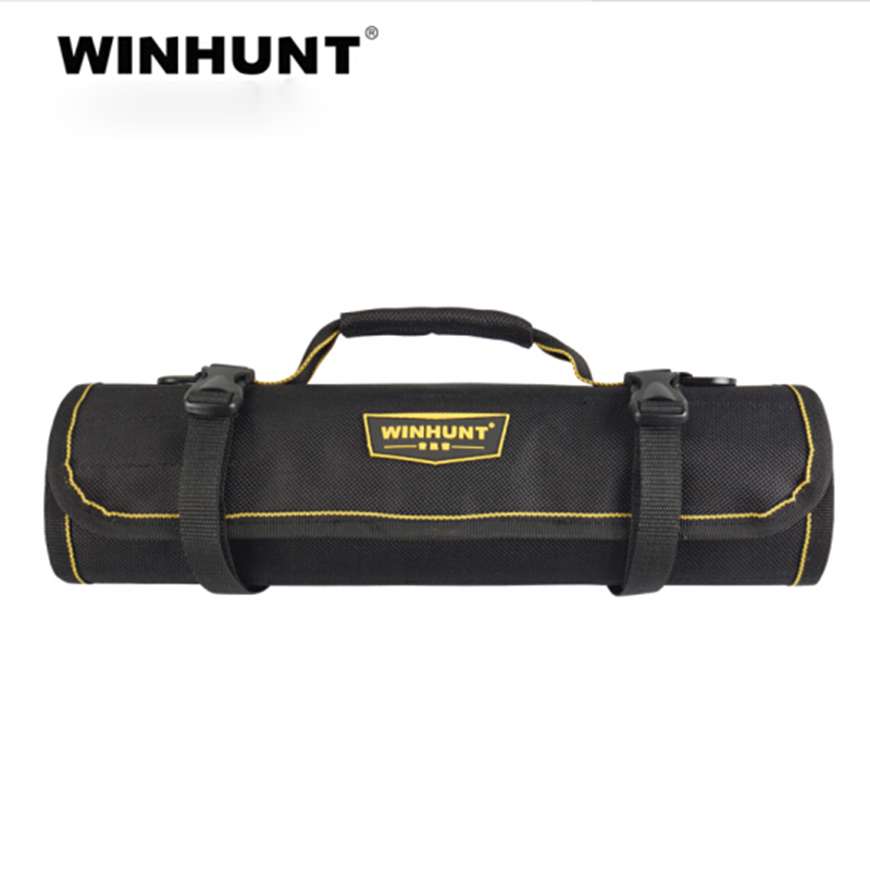 Oxford Cloth Wrench Tool Roll Up Tool Bag Multifunction Electrician Tools Organizers With Carrying Handles Toolkit Work Bag