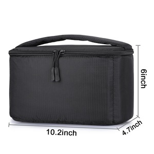 Image 4 - Lightweight Partition Padded Insert Protection Storage Camera Case Cover Photo Bag for Leica Nikon Canon Sony Panasonic Fujifilm