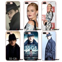 SS-GB Musim Transparan Bening TPU Case untuk iPhone 4 4 S 5 5 S 5C Se 6 6 S 7 8 PLUS Samsung Galaxy J1 J3 J5 J7 A3 A5 2016 2017(China)