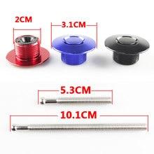 Universal Black Push Button Billet Hood Pins Lock Clip Kit Car Quick Latch New Engine Bonnets RS3-ENL013